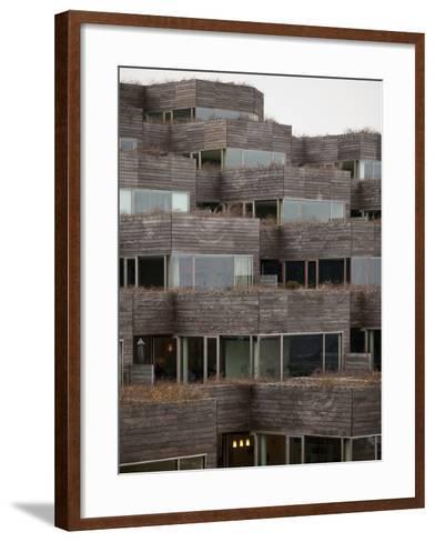 Mountain Dwelling, Ørestad, Copenhagen--Framed Art Print