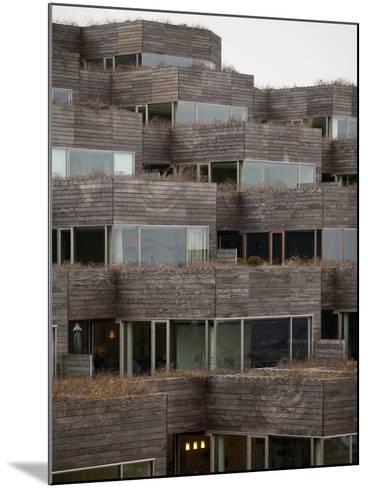 Mountain Dwelling, Ørestad, Copenhagen--Mounted Photographic Print