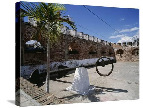 View of the Fort, Port Royal, Jamaica--Stretched Canvas Print