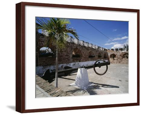 View of the Fort, Port Royal, Jamaica--Framed Art Print
