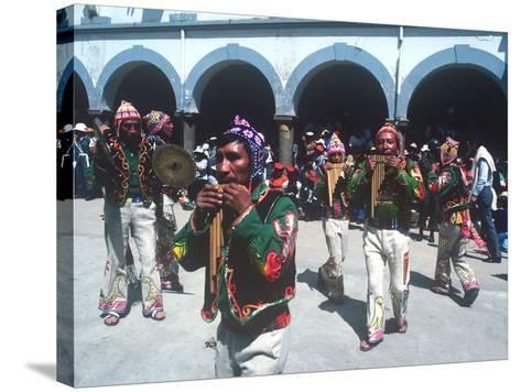 Mardi Gras Carnival, Oruro, Bolivia--Stretched Canvas Print