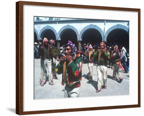 Mardi Gras Carnival, Oruro, Bolivia--Framed Art Print