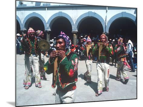 Mardi Gras Carnival, Oruro, Bolivia--Mounted Photographic Print