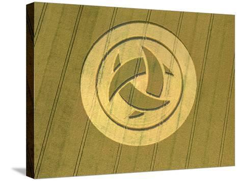 Crop Circle, 23rd July 1999--Stretched Canvas Print