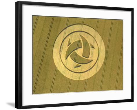 Crop Circle, 23rd July 1999--Framed Art Print