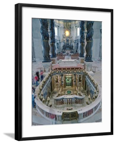 Baldacchino Di San Pietro--Framed Art Print