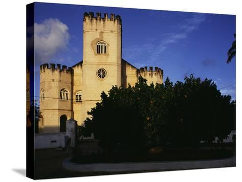 Christ Church, Barbados--Stretched Canvas Print