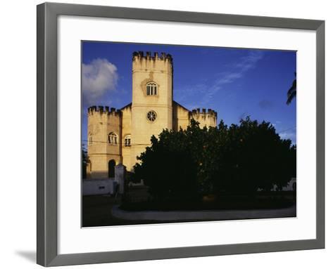 Christ Church, Barbados--Framed Art Print