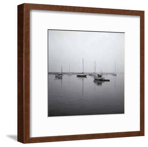 Block Island Harbor-Henri Silberman-Framed Art Print