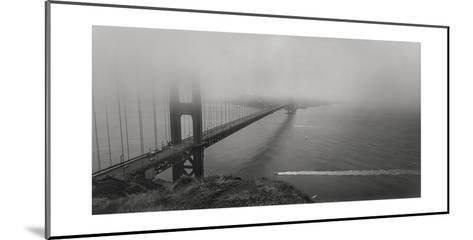 Golden Gate Bridge Fog Panorama-Henri Silberman-Mounted Photographic Print