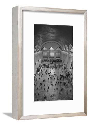 Grand Central Interior from Above-Henri Silberman-Framed Art Print
