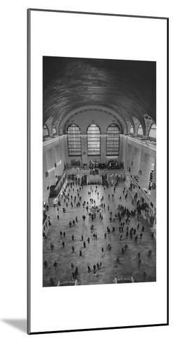 Grand Central Interior from Above-Henri Silberman-Mounted Photographic Print