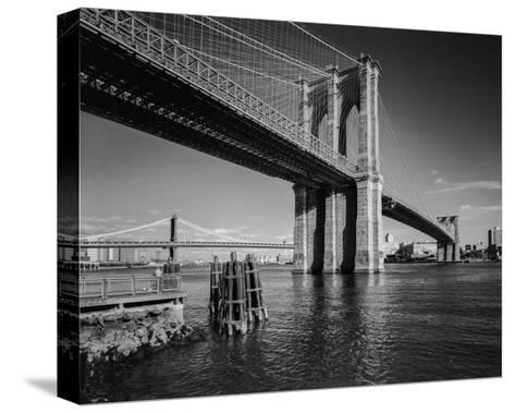 Brooklyn Bridge Afternoon 2-Henri Silberman-Stretched Canvas Print