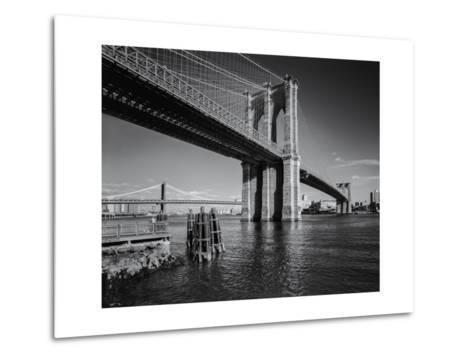 Brooklyn Bridge Afternoon 2-Henri Silberman-Metal Print