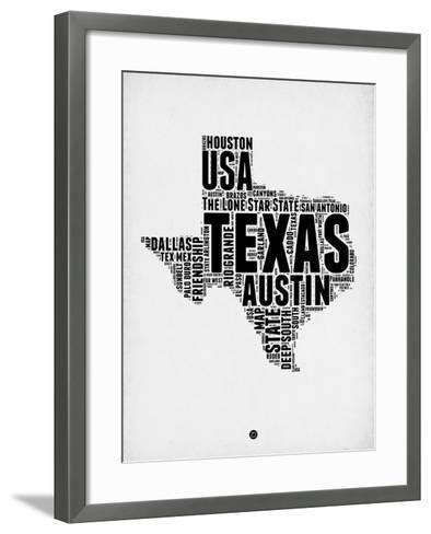 Texas Word Cloud 2 Art Print by NaxArt   Art.com