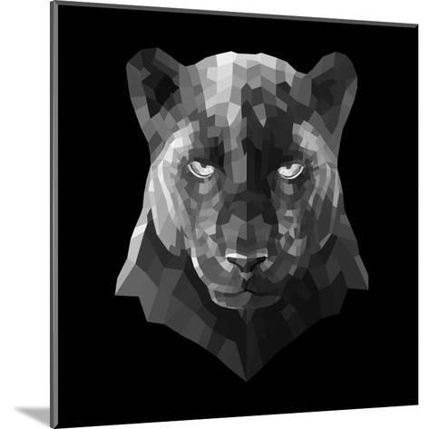 Black Panther-Lisa Kroll-Mounted Art Print