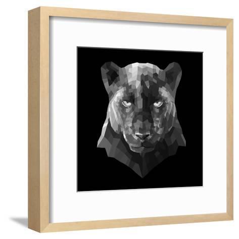 Black Panther-Lisa Kroll-Framed Art Print