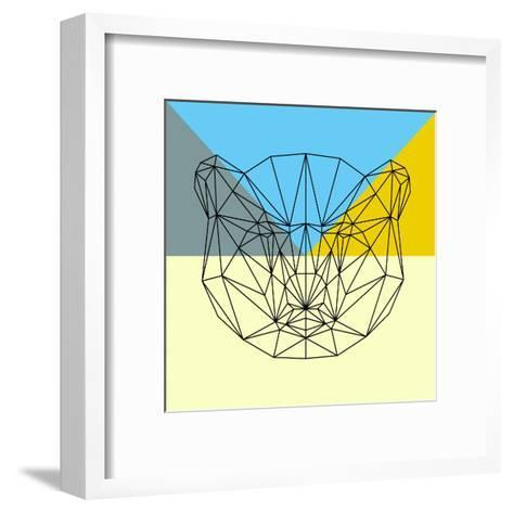Party Bear-Lisa Kroll-Framed Art Print