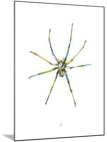 Spider-Alexis Marcou-Mounted Art Print