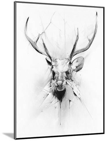 Stag-Alexis Marcou-Mounted Art Print