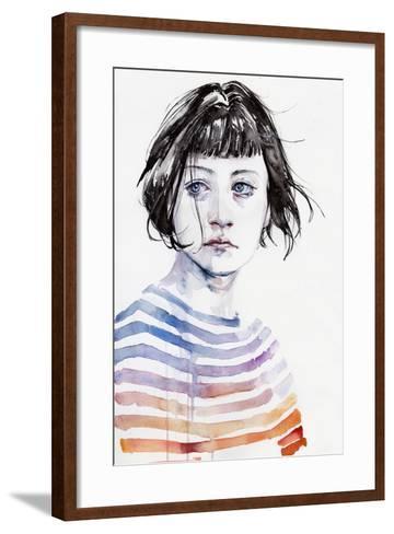 Amanda-Agnes Cecile-Framed Art Print