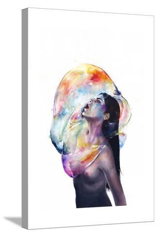 Apnea-Agnes Cecile-Stretched Canvas Print