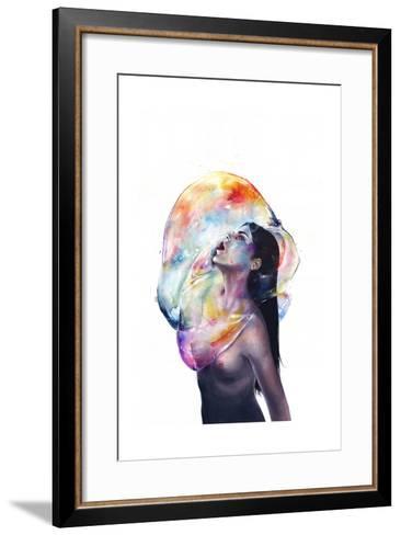 Apnea-Agnes Cecile-Framed Art Print