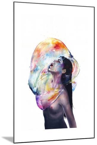 Apnea-Agnes Cecile-Mounted Art Print