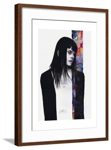 Through Your Own Fault-Agnes Cecile-Framed Art Print