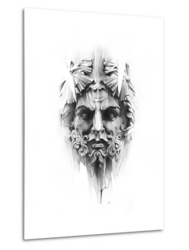 King Diamond-Alexis Marcou-Metal Print