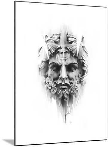 King Diamond-Alexis Marcou-Mounted Art Print