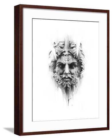 King Diamond-Alexis Marcou-Framed Art Print