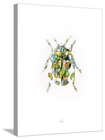 Ladybird-Alexis Marcou-Stretched Canvas Print