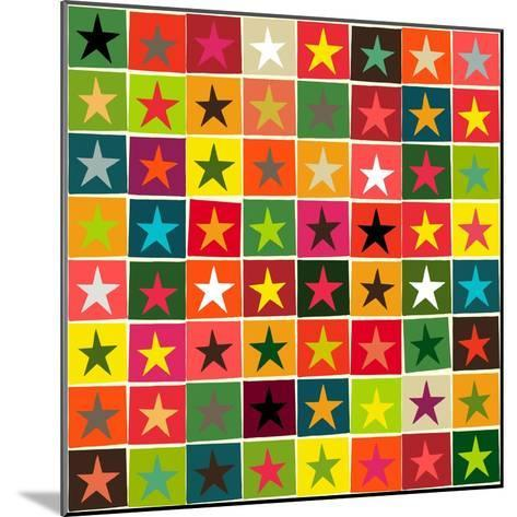 Christmas Boxed Stars-Sharon Turner-Mounted Art Print