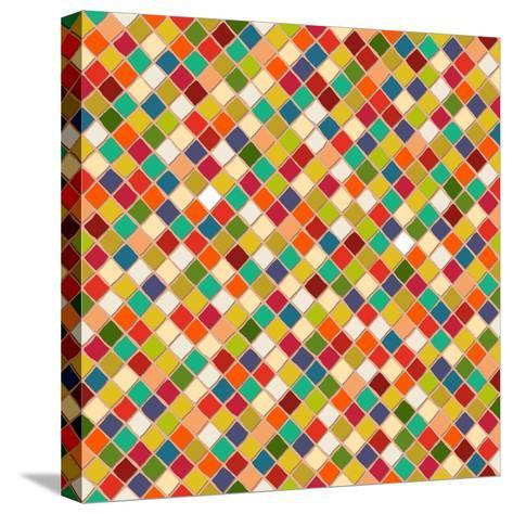 Mosaico-Sharon Turner-Stretched Canvas Print
