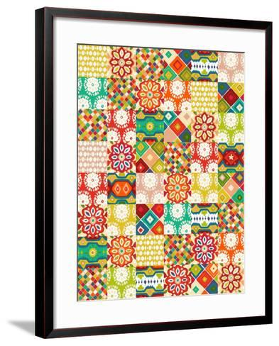 Abrazo-Sharon Turner-Framed Art Print