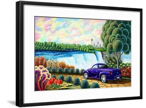 Power-Andy Russell-Framed Art Print