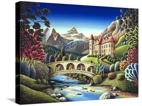 Castle Creek-Andy Russell-Stretched Canvas Print