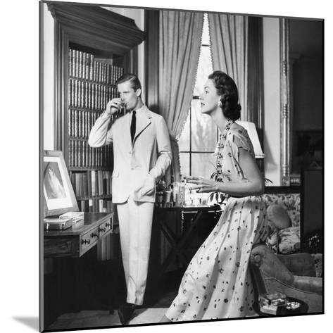 Vogue - May 1954-John Rawlings-Mounted Premium Photographic Print