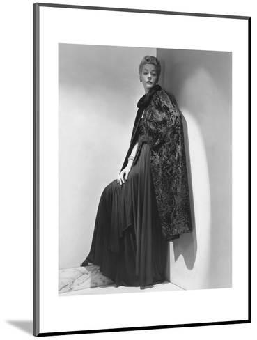 Vogue - July 1938-John Rawlings-Mounted Premium Photographic Print