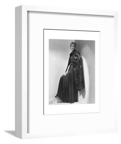 Vogue - July 1938-John Rawlings-Framed Art Print