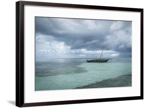 Waiting to Go Fishing-Marco Carmassi-Framed Art Print