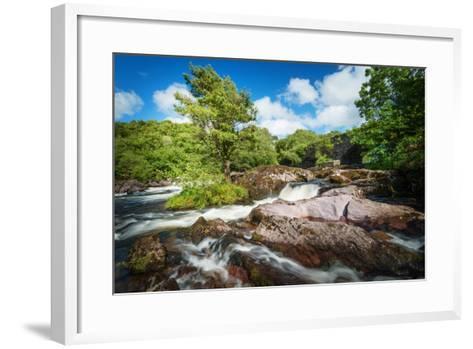 Flowing Easy-Philippe Sainte-Laudy-Framed Art Print