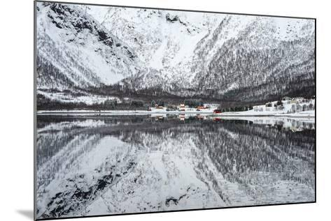 Reflection Lofoten-Philippe Sainte-Laudy-Mounted Photographic Print