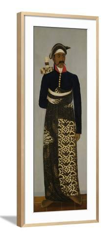 Javanese Court Official, C.1820-70-Javanese School -Framed Art Print