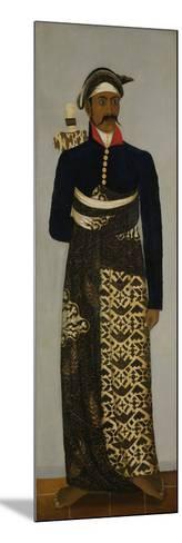 Javanese Court Official, C.1820-70-Javanese School -Mounted Giclee Print