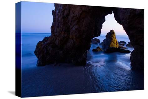 Rock Formations at El Matador State Beach-Ben Horton-Stretched Canvas Print