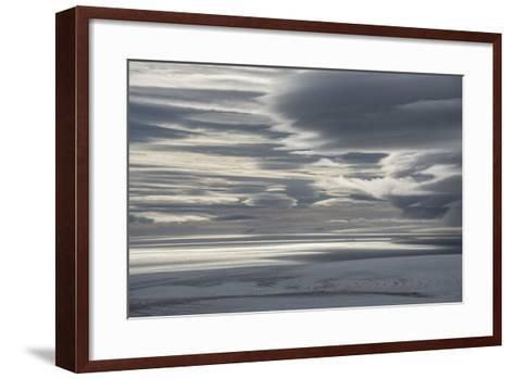 A View from the Summit of Wiener Neustadt Island-Andy Mann-Framed Art Print