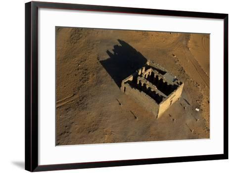 The Maharraqa Temple-Marcello Bertinetti-Framed Art Print
