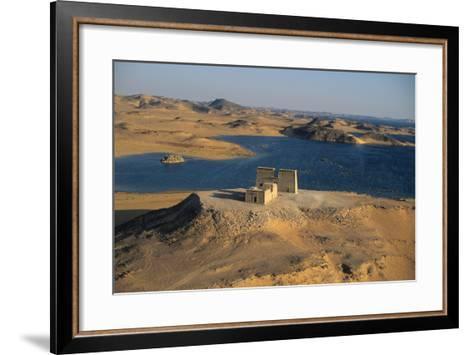 The Temple of Dakka in Nubia-Marcello Bertinetti-Framed Art Print